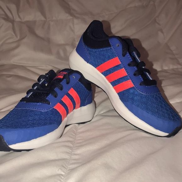 Brand New Adidas Neo Cloudfoam Race Kids Shoes